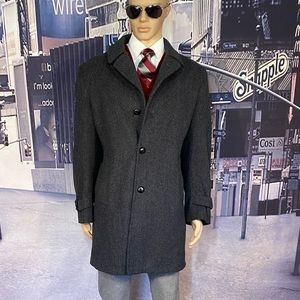 Overcoat Stafford  Large trench coat 42 Long wool